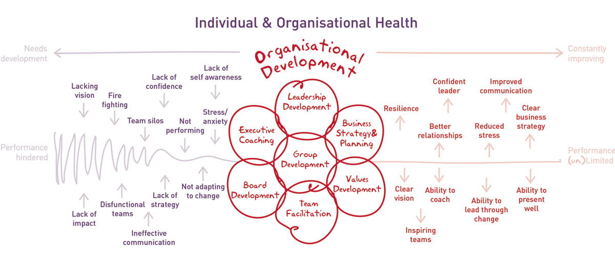 Creative Coaching Individual Organisational Health